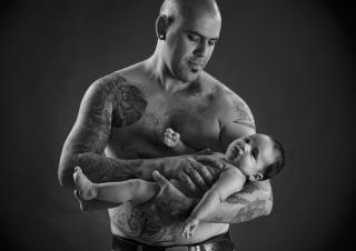 Bebé y papá